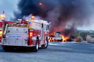 Eine Mietminderung nach einem Brandschaden kann erfolgen, wenn der Mieter nicht für diesen verantwortlich ist.