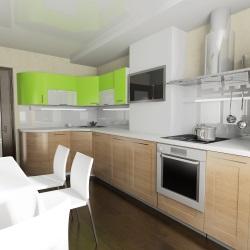 Der Einbau einer neuen Küche fällt bei der Mietpreisbremse unter eine Sanierung.